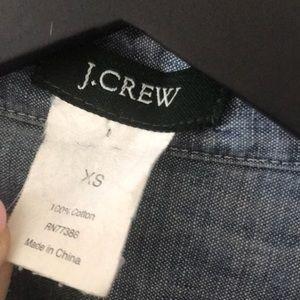 J. Crew Tops - Jcrew Chambray Shirt